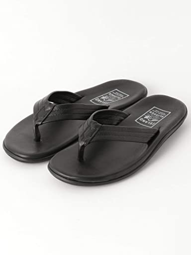 Leather Sandals 1431-499-7093: Black