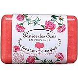 Panier des Sens Savon Rose Pivoine Extra Doux au Beurre de Karité 200 g