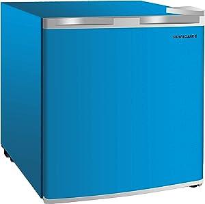 Frigidaire EFR115-BLUE 1.6 Cu Ft Compact Fridge for Office, Dorm Room, Mancave or RV, Blue