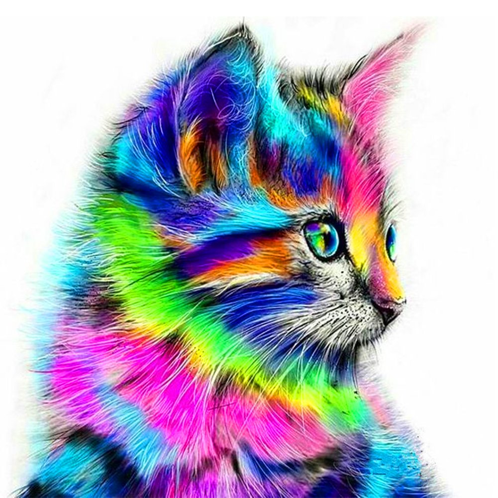 5D Pintura por Diamantes (ITM26679) animal