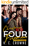 Christmas With Four Firemen: A Reverse Harem Romance (Spencer Sisters Book 2)