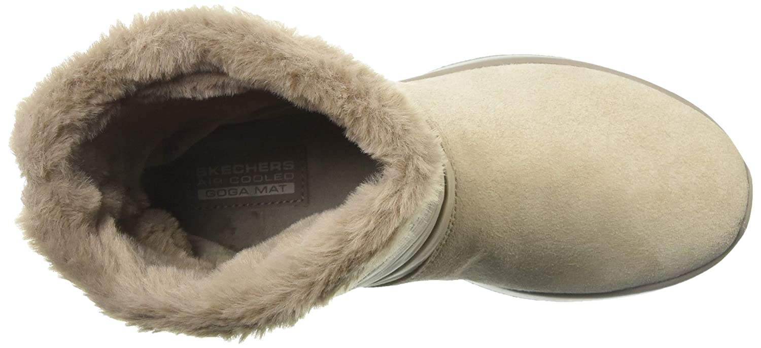Skechers On The Go Joy Mid Womens Calf Length Boots Taupe