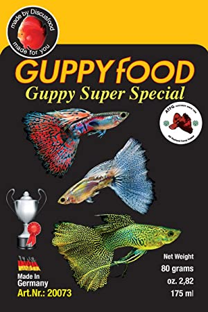 Comida para peces guppy - Guppyfood Guppy Super Special 80g