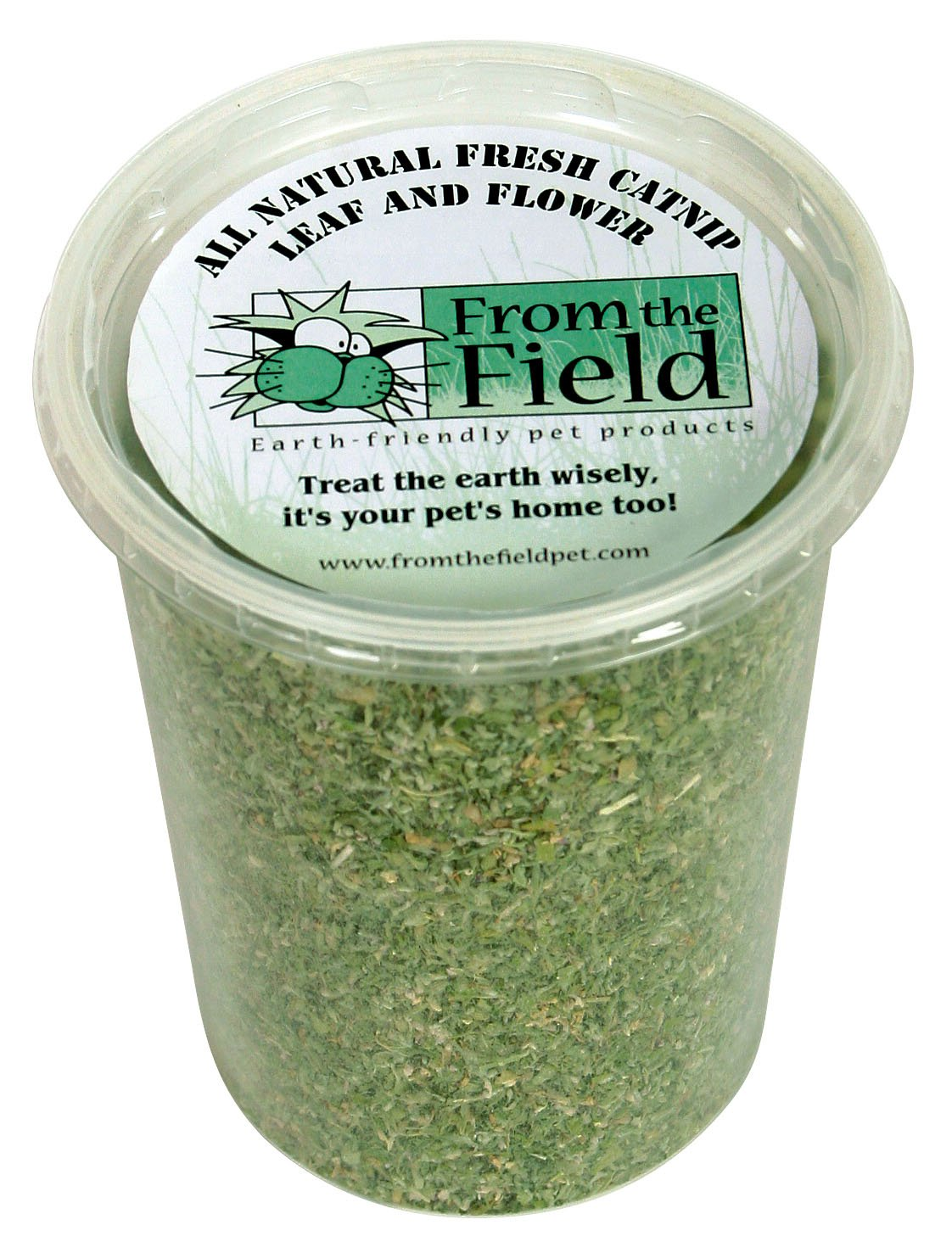 3.5-Ounce From The Field 3.5-Ounce Catnip Leaf and Flower Tub