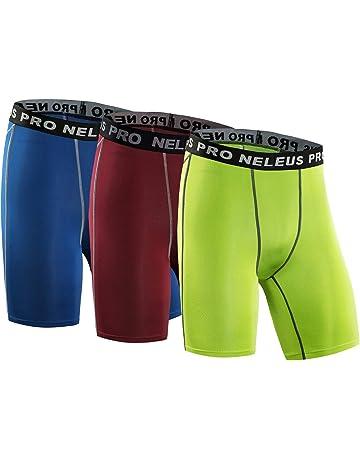 81cb0e226c6051 Neleus Men s 3 Pack Compression Short