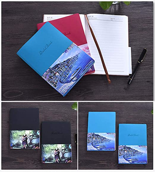 GuaziV 500 Times Reusable A5 Smart Notebook Travel Journal, Hardcover Executive Notebook, Heat Wet Erase,Cloud Synced Notebook with Erasable Pen ...