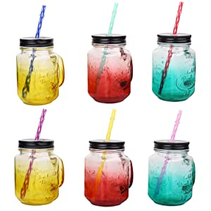 33 Pieces Reusable Plastic Straws Fit for Mason Jars, Tumblers, 9 Inches Transparent Colored Unbreakable Drinking Straws with 1 Straw Carrying Case and 2 Cleaning Brushes, BPA Free and Eco-friendly (Color: Red, Yellow, Purple, Blue, Pink,Green, Tamaño: 9 inches reusable plastic straws)