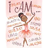 I Am: Positive Affirmations for Kids | Coloring Book for Young Black Girls | African American Children | Self-Esteem and Conf