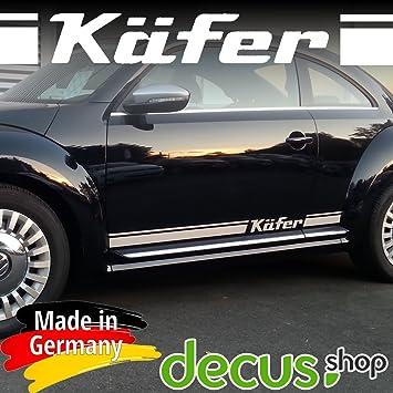 Beetle Käfer Sticker Für Vw Aufkleber Strip Volkswagen Türleiste Schwarz