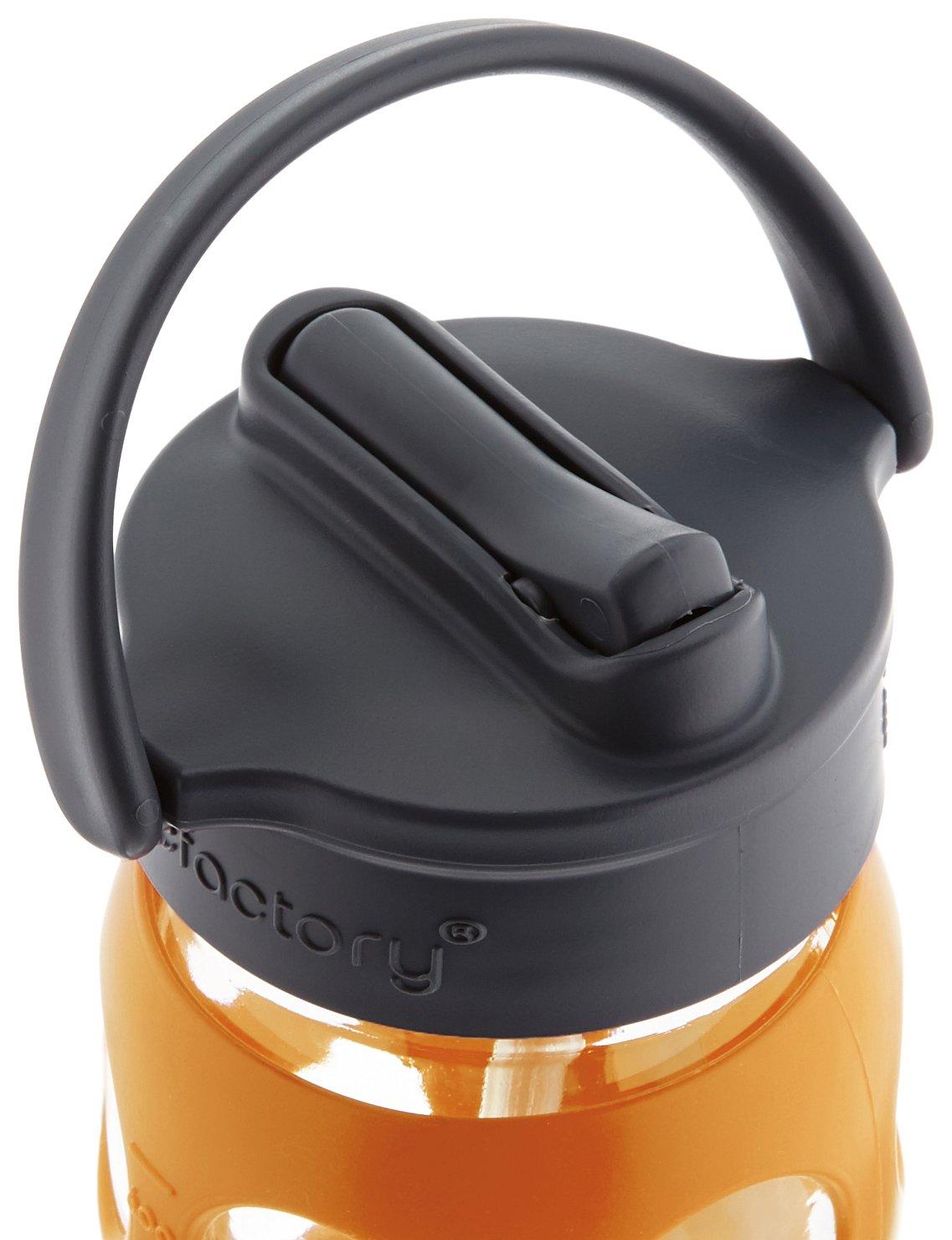 22-Ounce Orange Lifefactory Kitchen Lifefactory LF234040C4