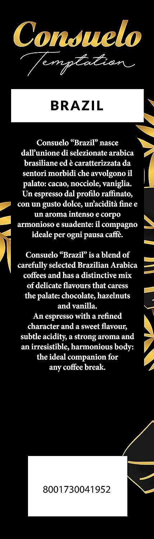 Café de Brasil en grano Consuelo, 2 paquetes de 1 kg: Amazon.es ...