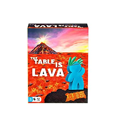 R & R Games The Table is Lava: Toys & Games