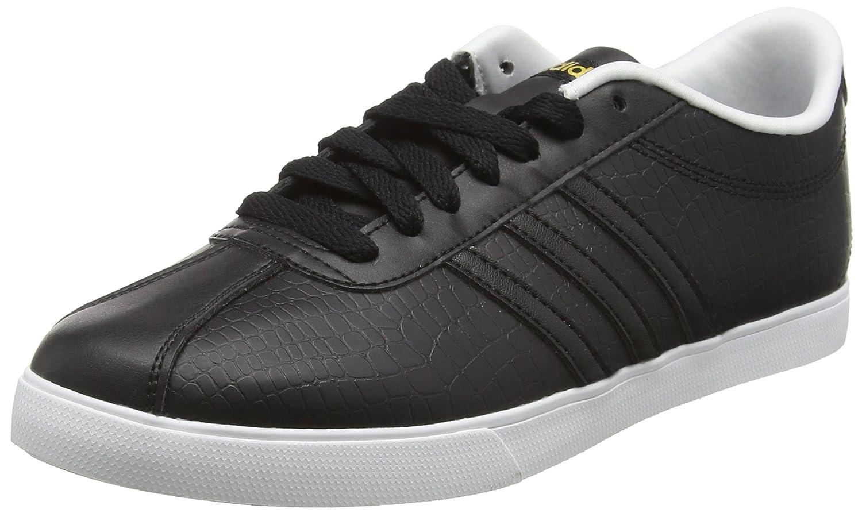 best sneakers 3876a 0684d adidas Damen Courtset W Turnschuhe, Schwarz 40 23 EUSchwarz (Core  BlackCore Black Matte Gold) - associate-degree.de