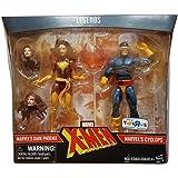 Marvel Legends X-Men Cyclops and Dark Phoenix Exclusive Action Figures, 6 Inches