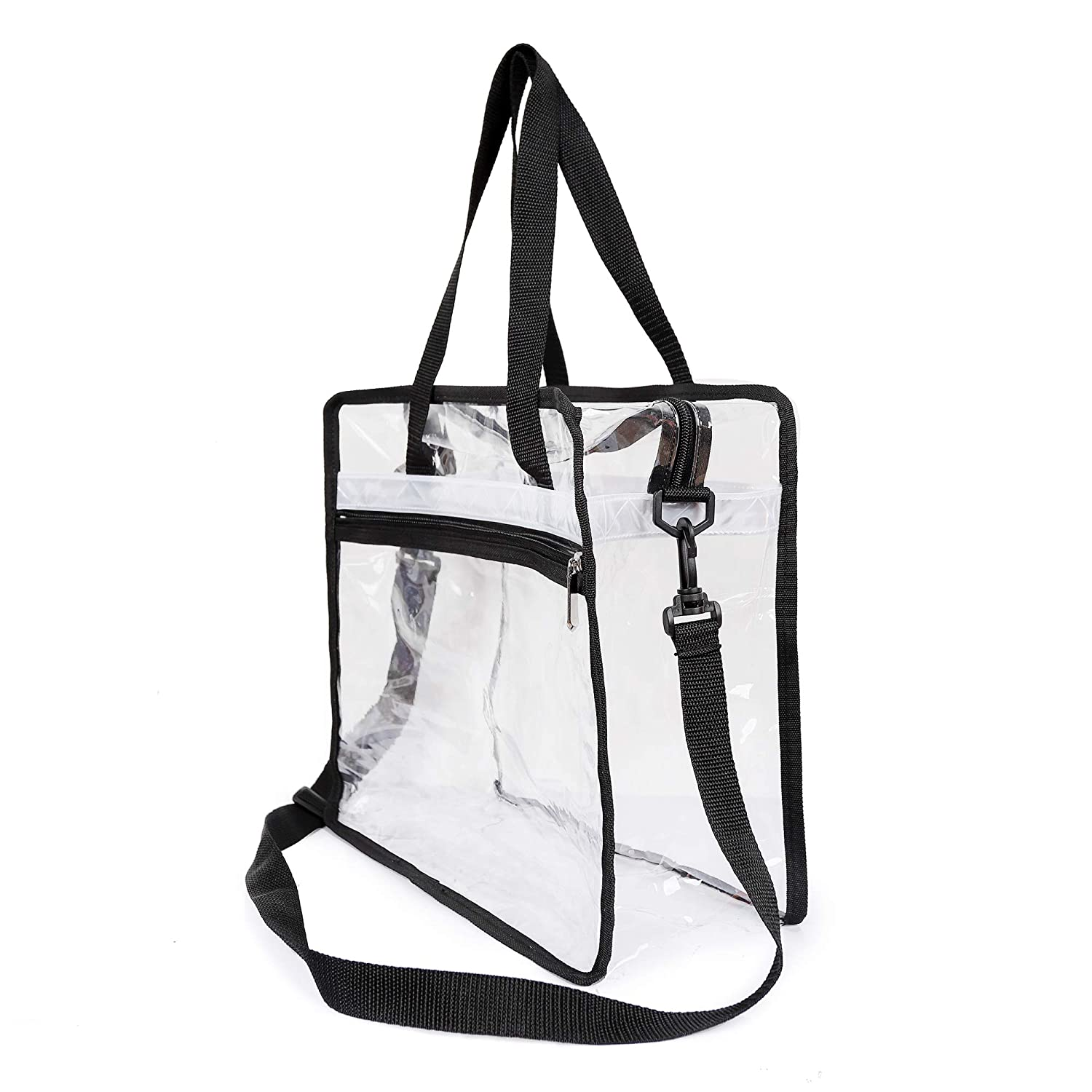 Travel Shopping School Sports Games and Concerts Thirtythree July Handheld Transparent Cross-Body Bag NFL/&PGA Stadium Approved Adjustable Shoulder Strap and Zip Closure for Work