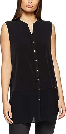 Calvin Klein Women's Knit Chiffon Top