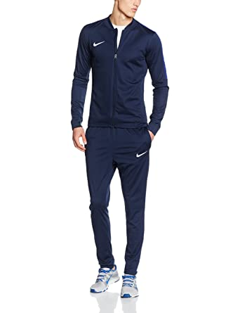Nike Academy 16 Poly Tracksuit Men s Dri Fit Football Sport Suit Red  Black White ca0551deed8c