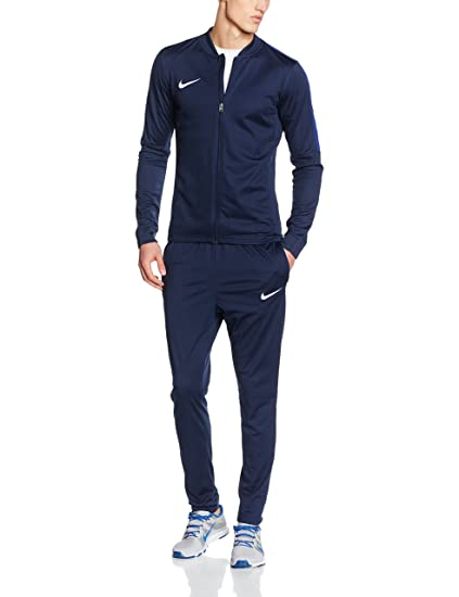 ac8edd60ab611 Nike Academy 16 Poly Tracksuit Men's Dri Fit Football Sport Suit  Red/Black/White