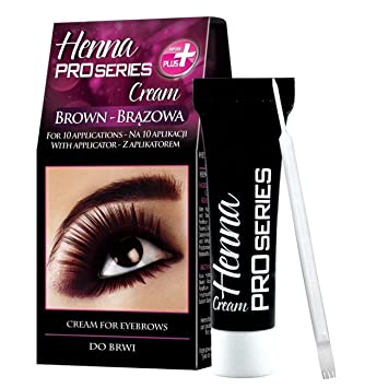 Verona Henna Cream For Eyebrows And Lashes Brown Amazon Co Uk Beauty