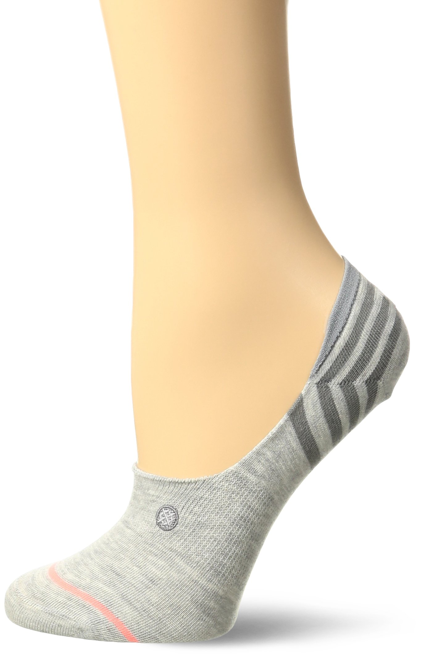 Stance Women's Uncommon Super Invisible Sock, Grey, Small