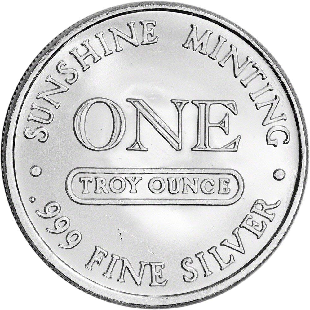 Our Choice of .999 fine 1 one Ounce Silver Bars or Rounds by Sellers Choice