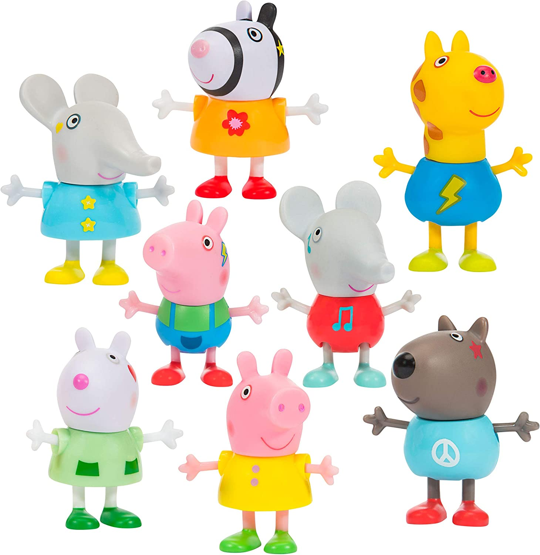 Peppa Pig Family Celebrations 8-Figure Pack