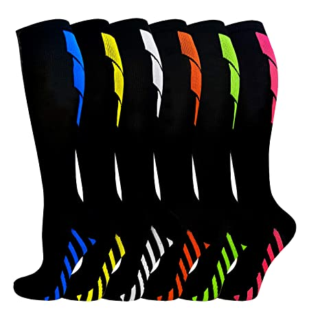 Compression Socks for Women and Men- Best Medical,for Running, Athletic, Sports,Flight Travel, Pregnancy
