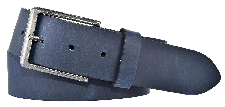 BERND GÖTZ Jeansgürtel 4 cm breit Pull-Up-Rindleder Herren Damen Jeans Belts