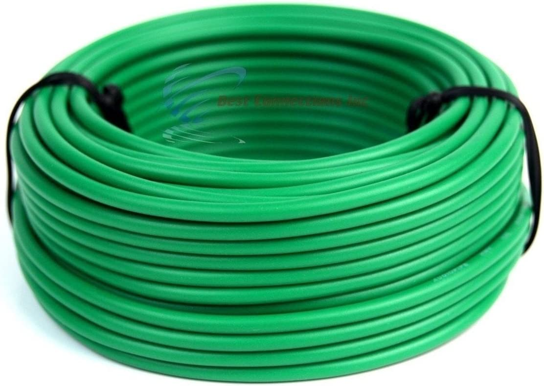 6 Rolls 18 Gauge 50 Feet Remote Wire Stranded Single Conductor Cable 300 FT Total