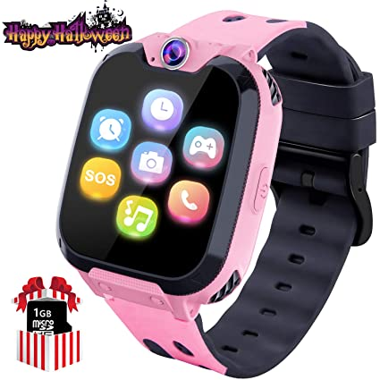 Amazon.com: Relojes inteligentes para niños con pantalla ...