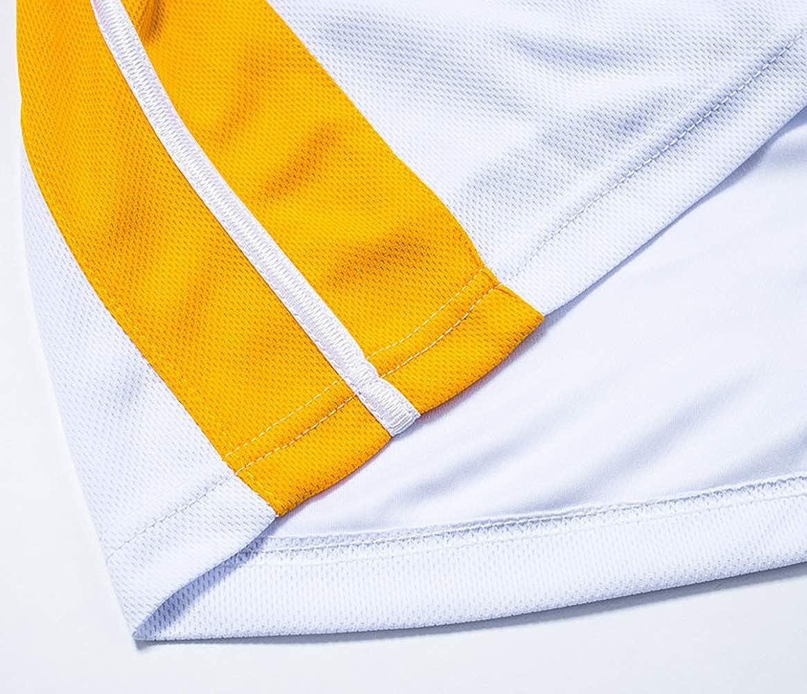 Abbigliamento Sportivo da Esterno Maglie Corte. Lakers Kobe Bryant No SXXRZA Divise da Basket Artigianato di Ricamo di Fascia Alta 24 Maglia Canottiere da Basket