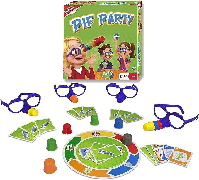 Games - Pif Party, Juego de Cartas (6018191) (versión en francés): Amazon.es: Juguetes y juegos