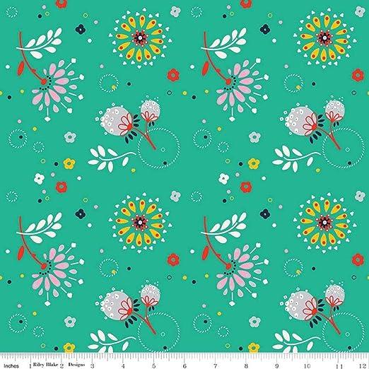 Riley Blake Designs - Tela de algodón 100% por metro, 110 cm de ...