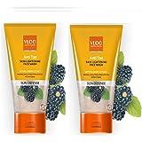 VLCC Anti Tan Skin Lightening Face Wash Combo Pack of 2 (150 ml*2)