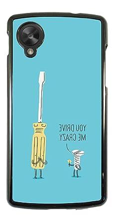 325 - gracioso tornillo destornillador para LG Google Nexus 4/todos ...