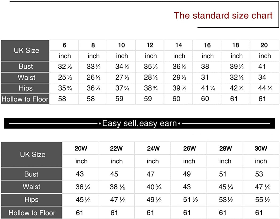 Clearbridal Women's Long Evening Chiffon Prom Dress A-line Party Wedding Bridesmaid Formal Dresses Ball Gowns 2020 Red