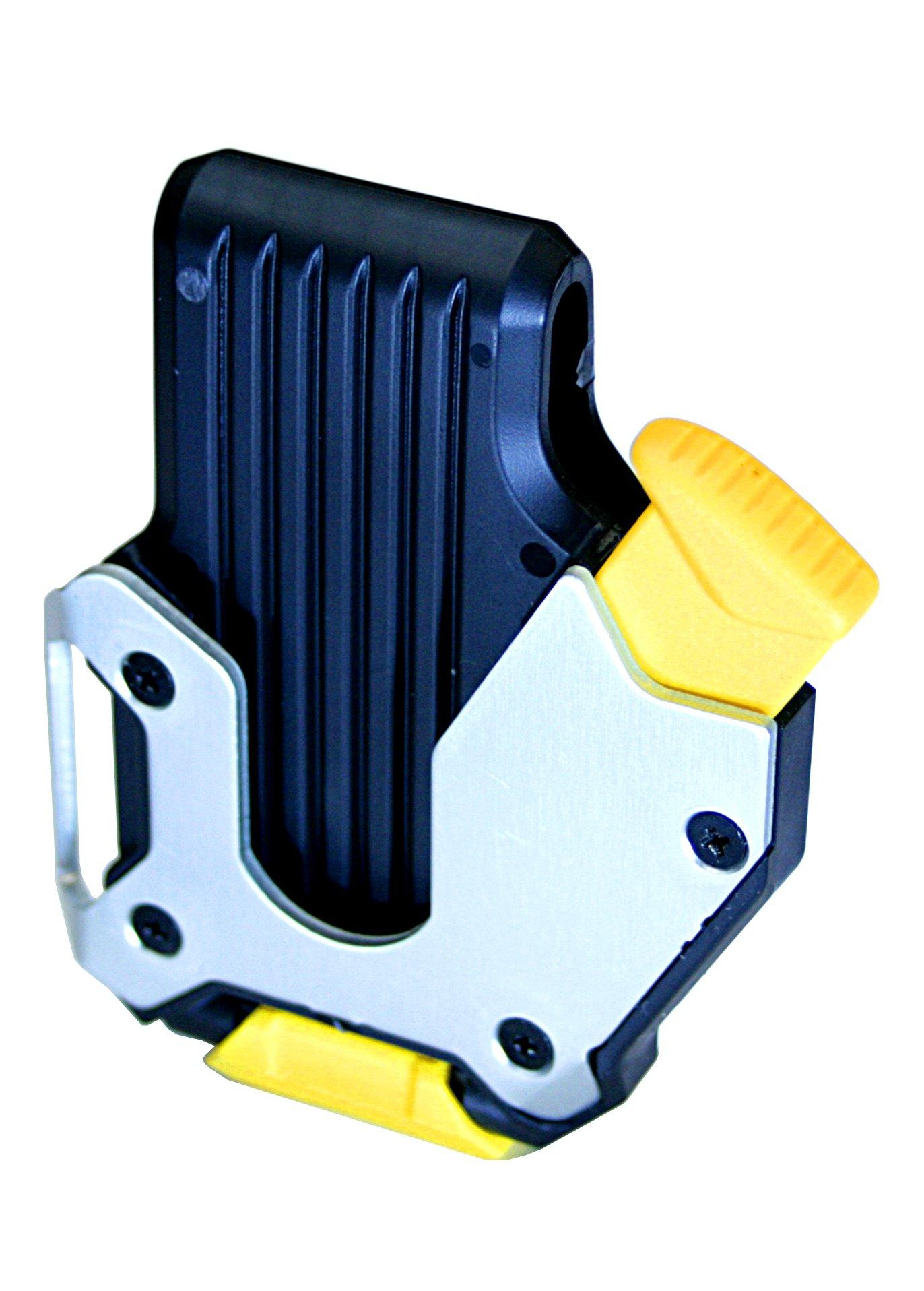 KDS SH-01 Locking Belt Clip for Measuring Tapes, Black/Silver by KDS (Image #1)