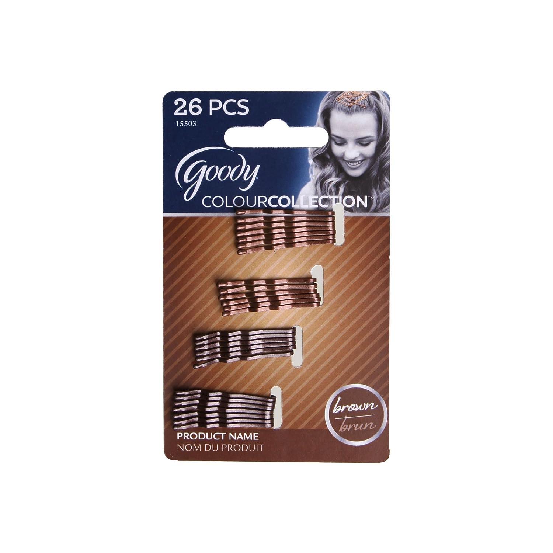 Goody Colour Collection Brunette Mini Bobbies - 26 Pcs 15503