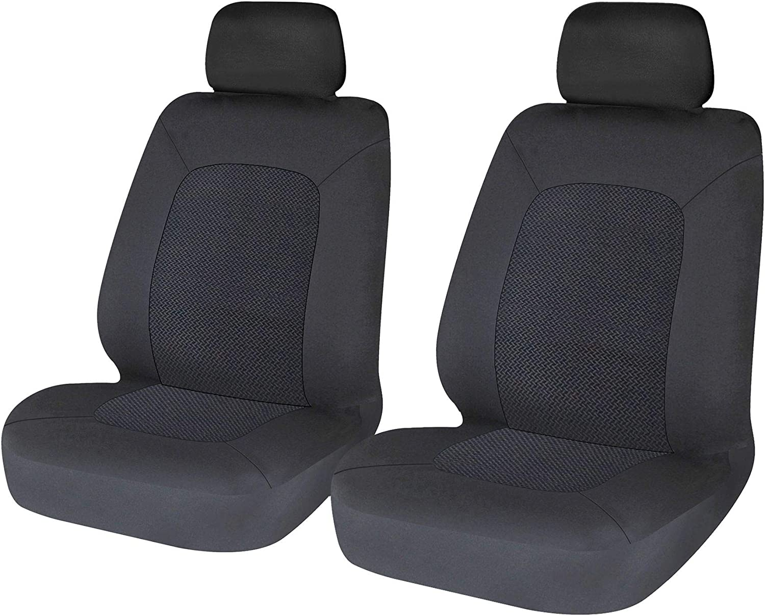 UKB4C Modern Black Front Set Car Seat Covers for Hyundai Tucson 04-09