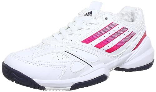 adidas Galaxy Elite 2K (Tennis), Zapatillas de Tenis Unisex para Niños, Weiß