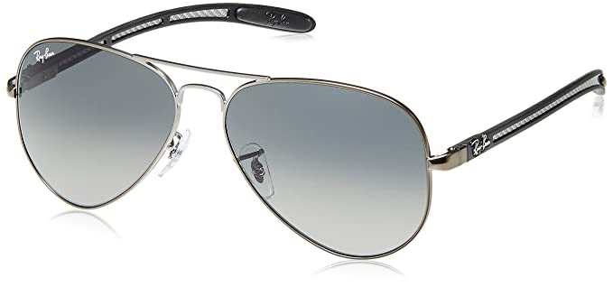 0b2d8cbcf2 Ray-Ban Aviator Sunglasses (Gunmetal) (RB8307