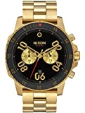 Gold/Black The Ranger Chrono Watch by Nixon