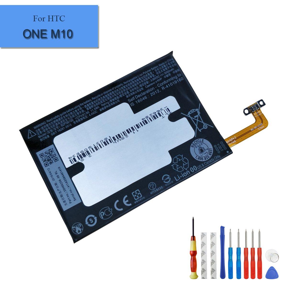 Bateria Celular Para Htc One M10 3000mah 3.85v B2ps6100 Built In 35h00256 00rl + Herramientas