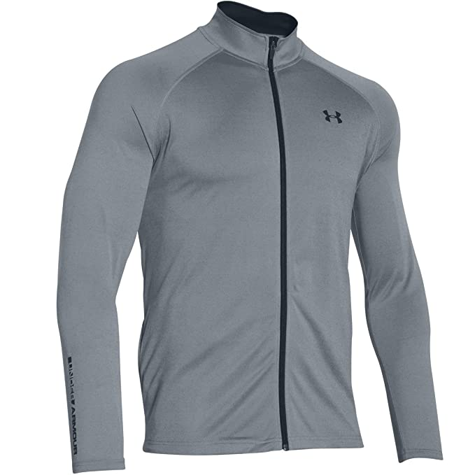1ef30455e Amazon.com: Under Armour Men's Tech FZ Track Jacket: Clothing