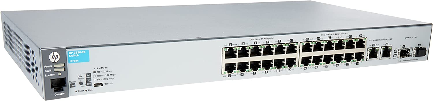 HP 24-Port Switch, Managed (J9782A#ABA)