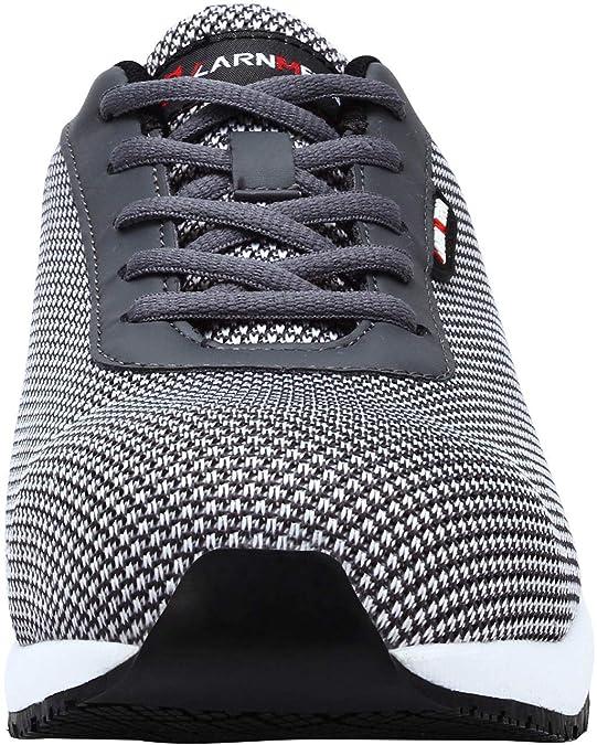 Zapatos de Seguridad Hombres, LM-027 Zapatillas de Trabajo con Punta de Acero Ultra Liviano Reflectivo Transpirable (44,Gris): Amazon.es: Zapatos y ...