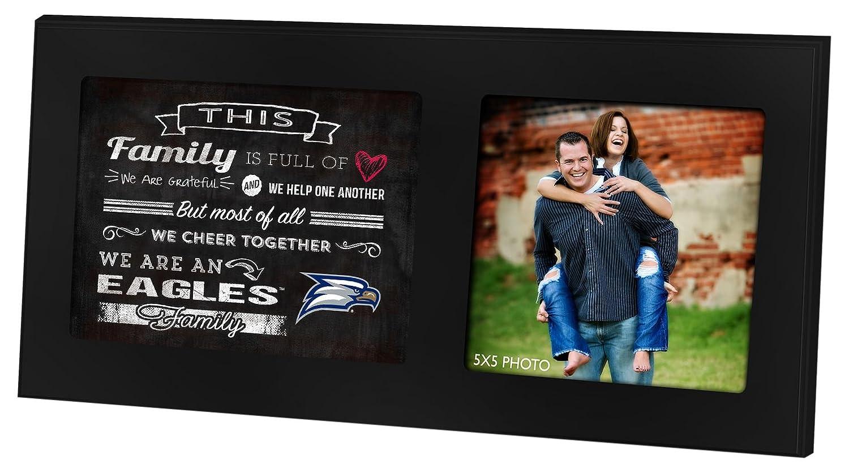 KH Sports Fan 16x8 Alabama Crimson Tide Family Cheer Black Single Collage Photo Frame