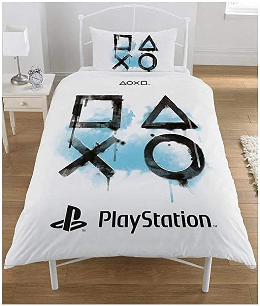 Sony Playstation - Juego de Funda nórdica, algodón poliéster ...