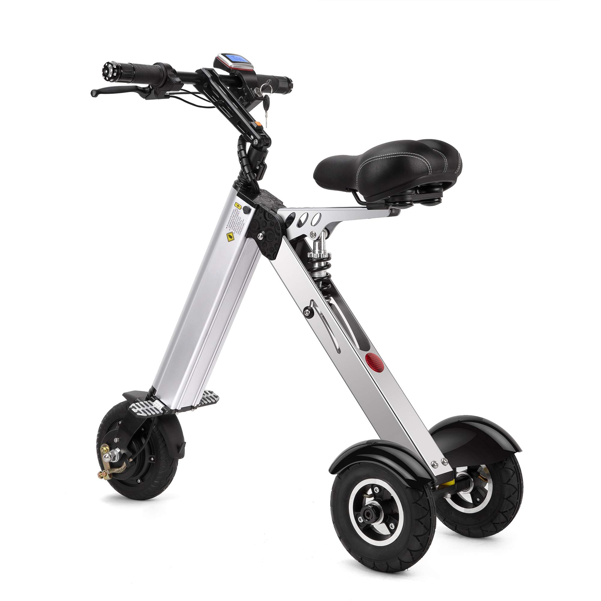 TopMate ES31Electric ScooterMini Tricycle| Key Switch3 Gears |Rear Axle Suspension |for Mobility Assistance and Travel by TopMate