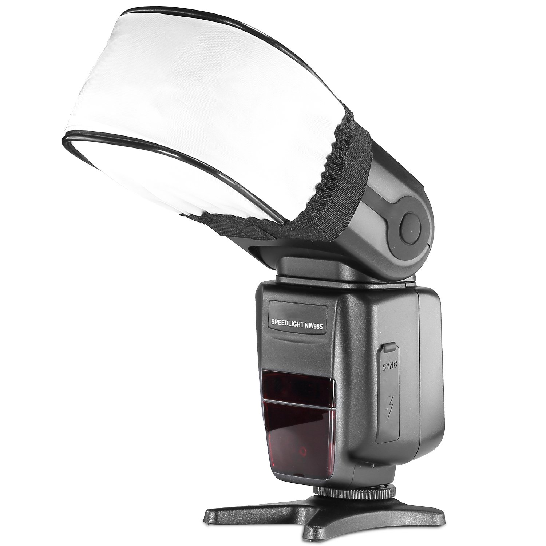Neewer Pro Universal Soft Mini Flash Bounce Diffuser Cap for